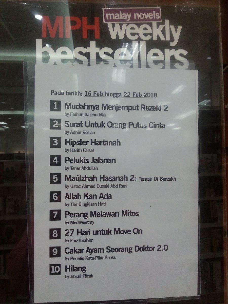 BUKU TERLARIS di MPH (MPH Weekly Bestsellers)