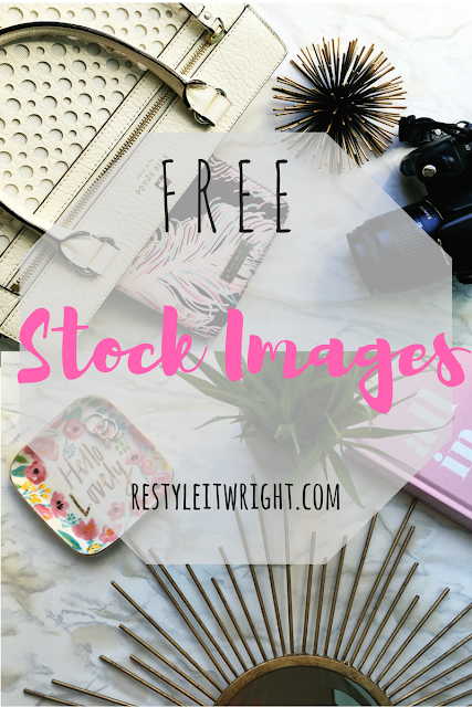 free flat lay stock image for bloggers