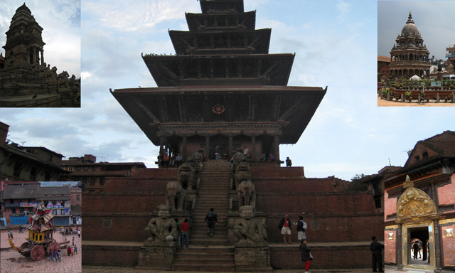 Bhaktapur y Patan, conjuntos monumentales Patrimonio de la Humanidad