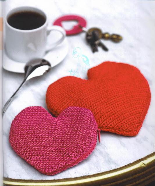 porte monnaie coeur