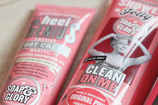 Soap & Glory Boots Haul Clean on Me Original Pink Shower Jelly and Heel Genius