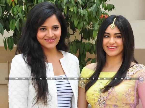 Kshanam Movie Press Meet Photos