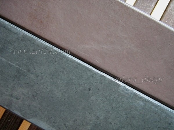 Бразильские сланцы (Green + Burgundy) - предфинишные, доводочные природные камни для заточки ножей.