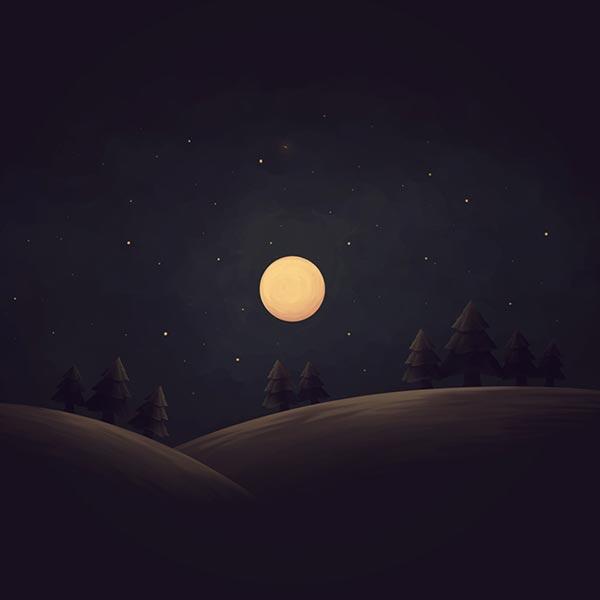 Full Moon [FHD] Wallpaper Engine