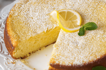 LEMON RICOTTA CAKE - Food Delicious Recipe