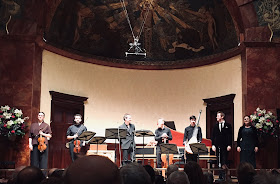 Arcangelo, Jonathan Cohen, TIm Mead, Louise Alder at the Wigmore Hall (Photo Arcangelo)