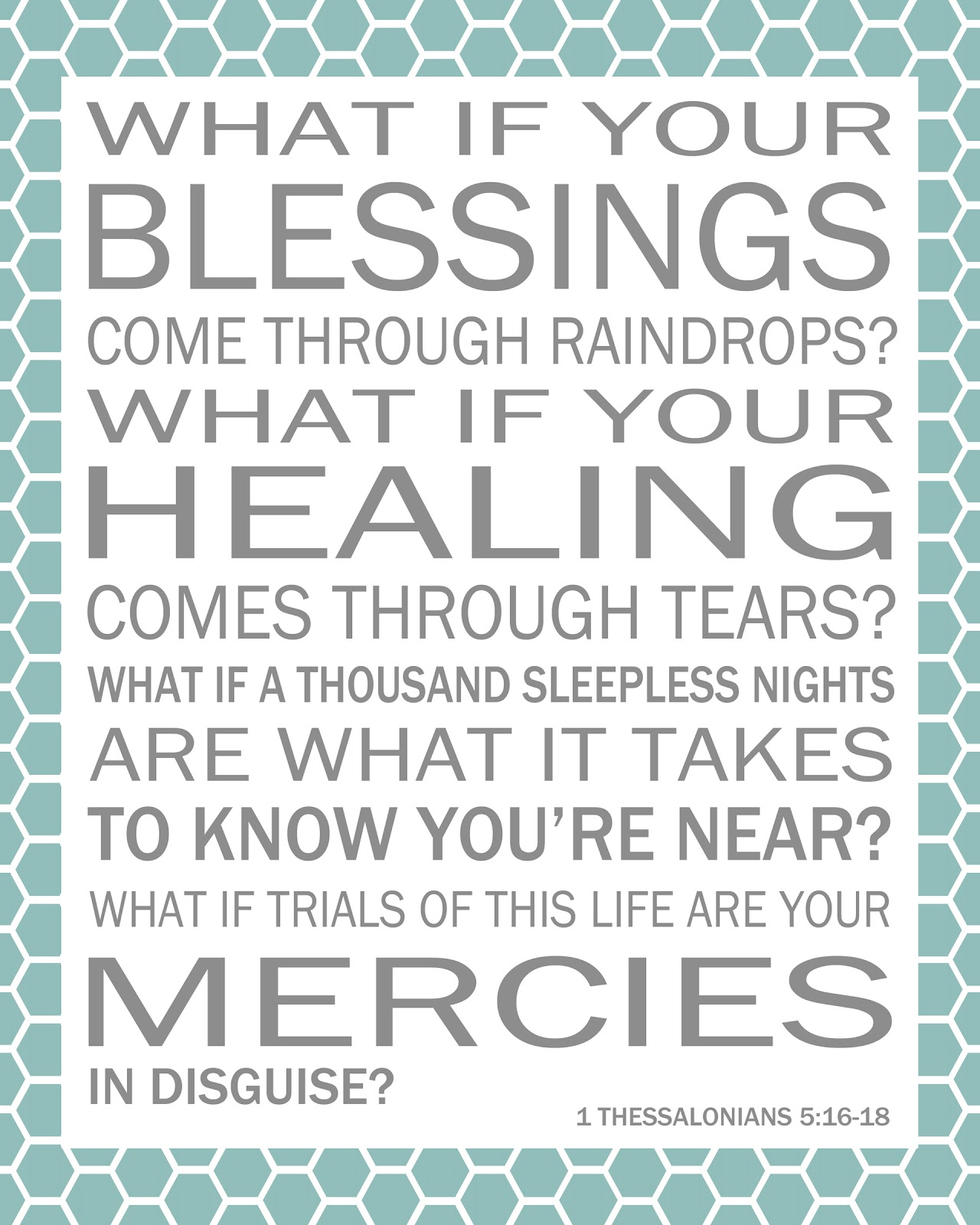 Blessings Quotes: 517 Creations: {blessings} Printable