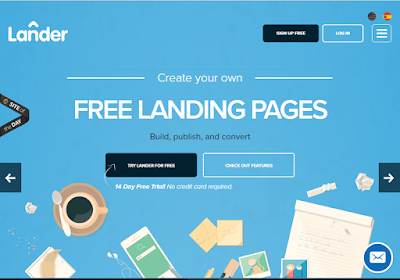 Lander empowers your Landing Page with amazing features