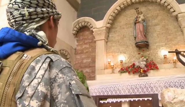 Milícias cristãs anti-ISIS