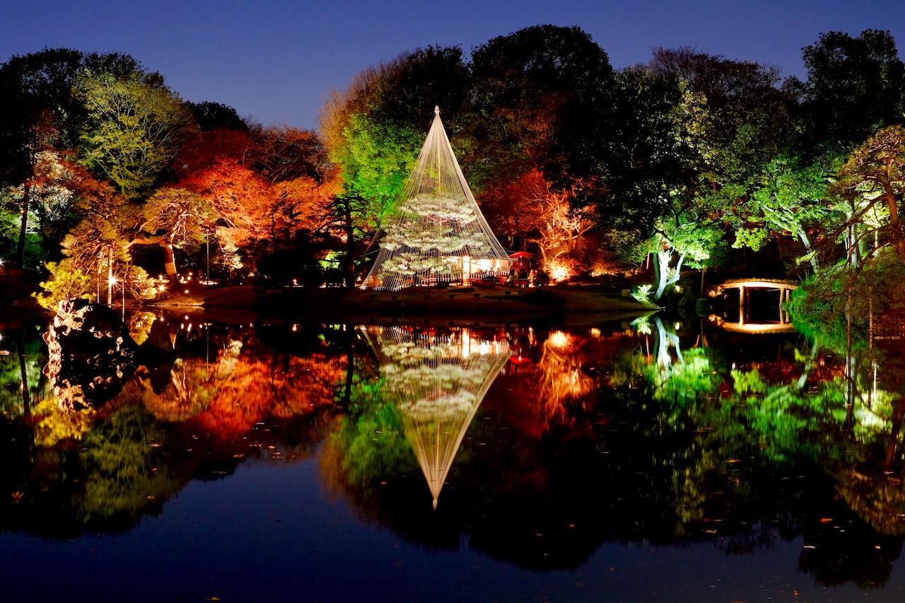 Tokyo Illumination 2017 at Rikugien Garden