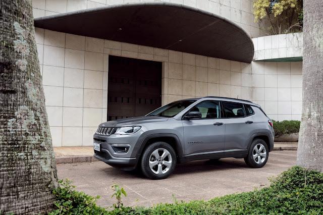 Jeep Compass tem reajuste de preços - Ago/2018