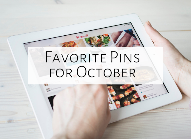 Five Favorite Pins of October