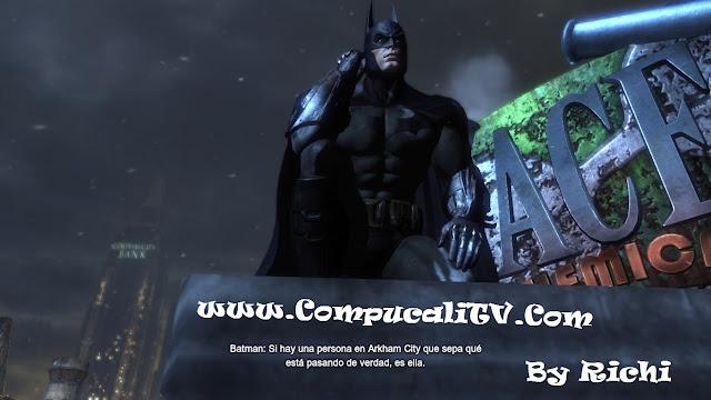 Capturas propias Batman Arkham City 2011 PC FULL