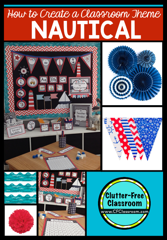 Classroom Decor Nautical ~ Nautical themed classroom ideas printable