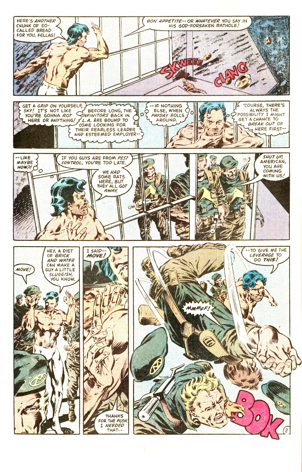 Infinity Inc. (1984) issue Special - Page 4