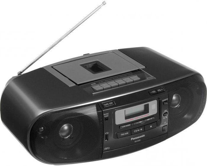 Магнитола Panasonic RX-D55EE-K: технические характеристики и отзывы купить по лучшей цене