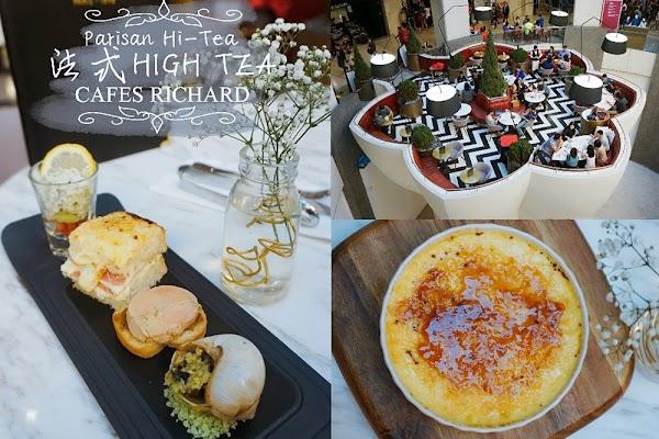 Parisan Hi-Tea @ Cafés Richard, Sky Avenue