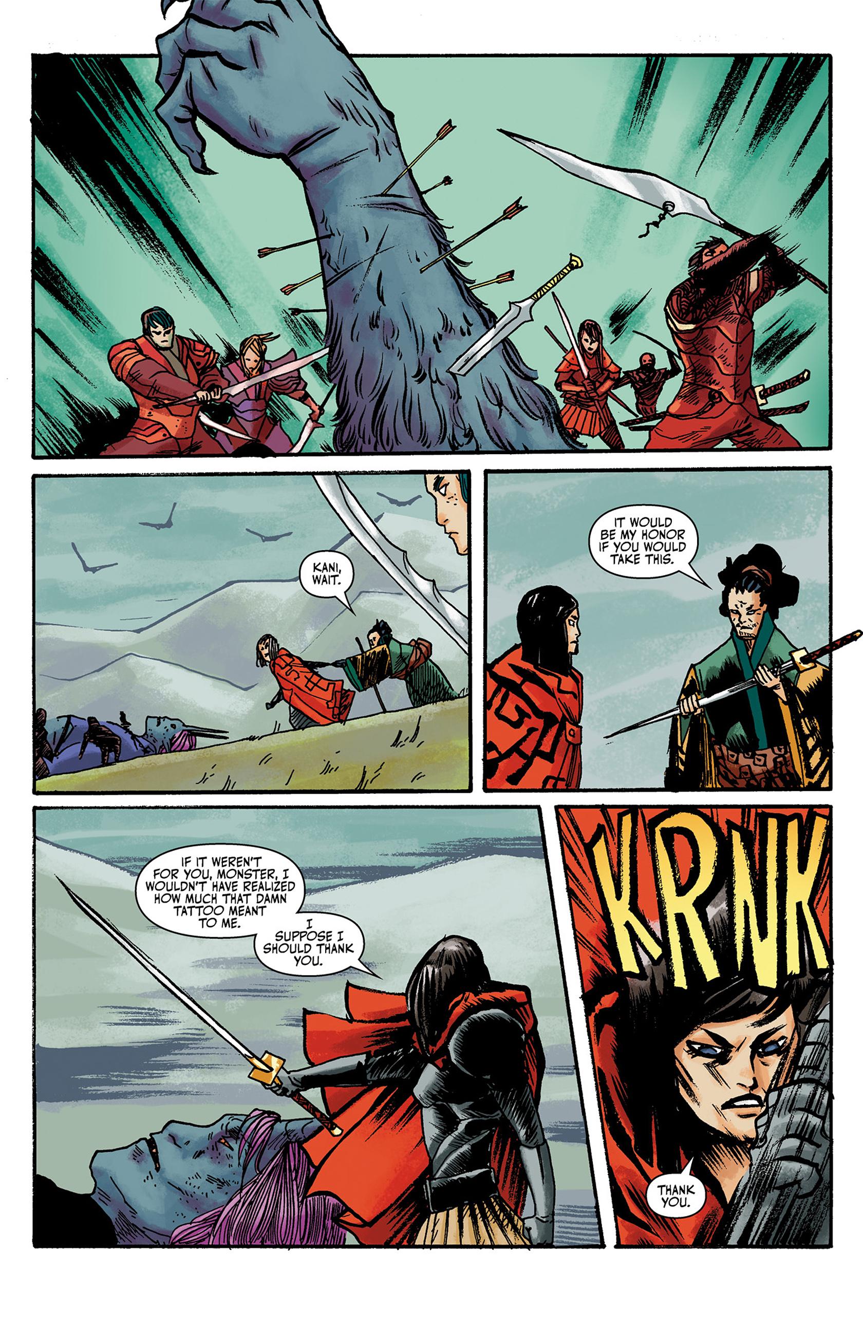 Read online Akaneiro comic -  Issue #3 - 19