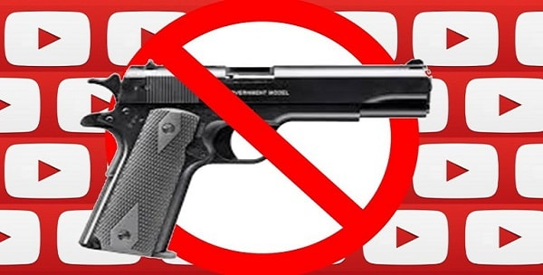 YouTube imposes restrictions on firearms videos