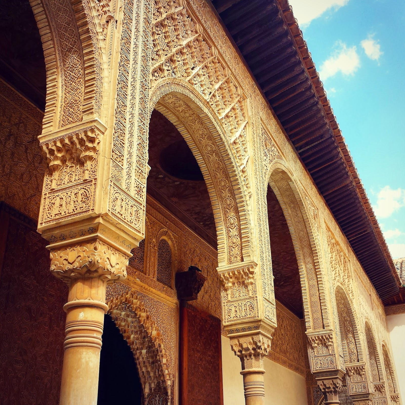 The Alhambra  |  Postcard from Andalucía: Granada and La Alhambra on afeathery*nest  |  http://afeatherynest.com
