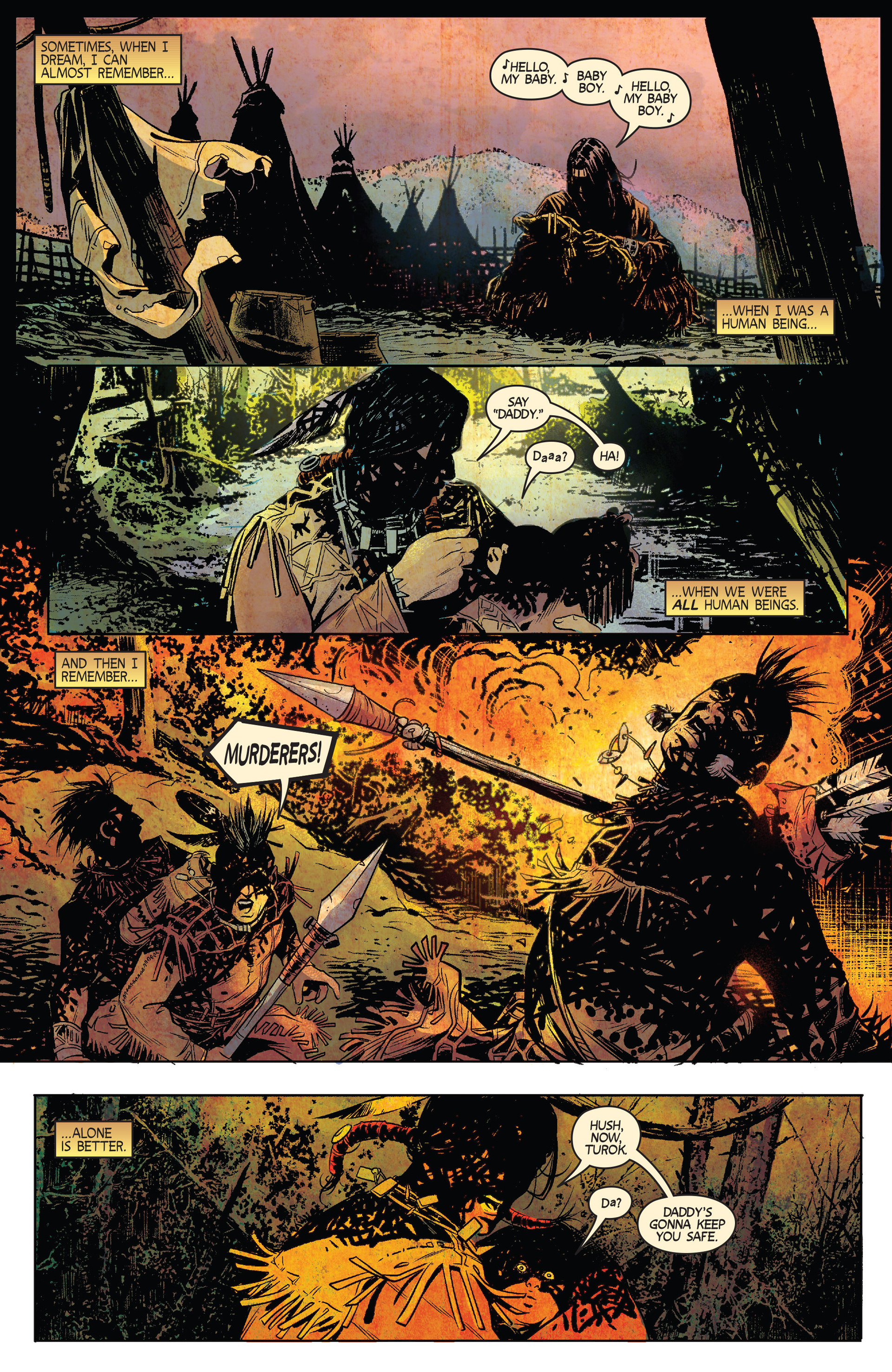 Read online Turok: Dinosaur Hunter (2014) comic -  Issue #1 - 3