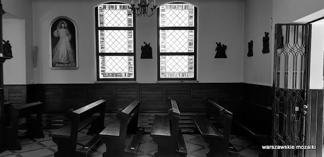 Warszawa Warsaw klasztor karmelitów bosych kaplica architektura Mokotów kościół