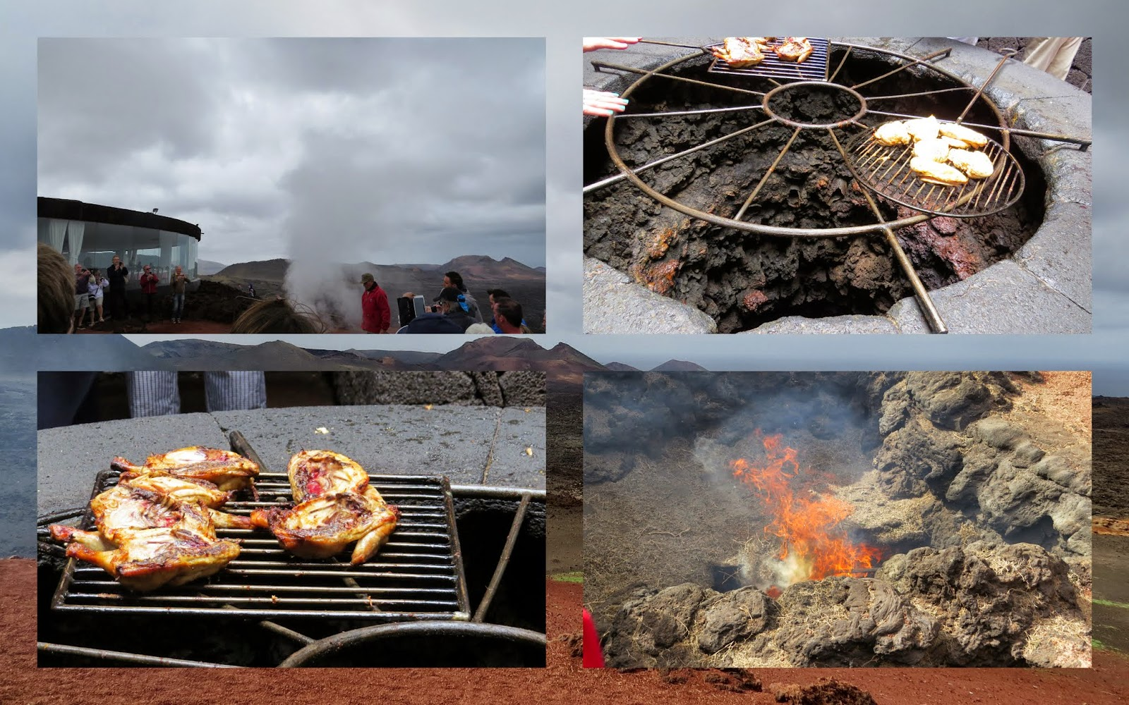 What to do in Lanzarote in January: Demonstrations at Timanfaya National Park