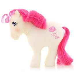 My Little Pony January Carnation Year Three Mail Order G1 Pony