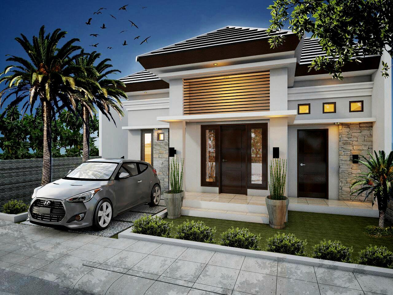 TFQ architects: Desain rumah tipe 45/100