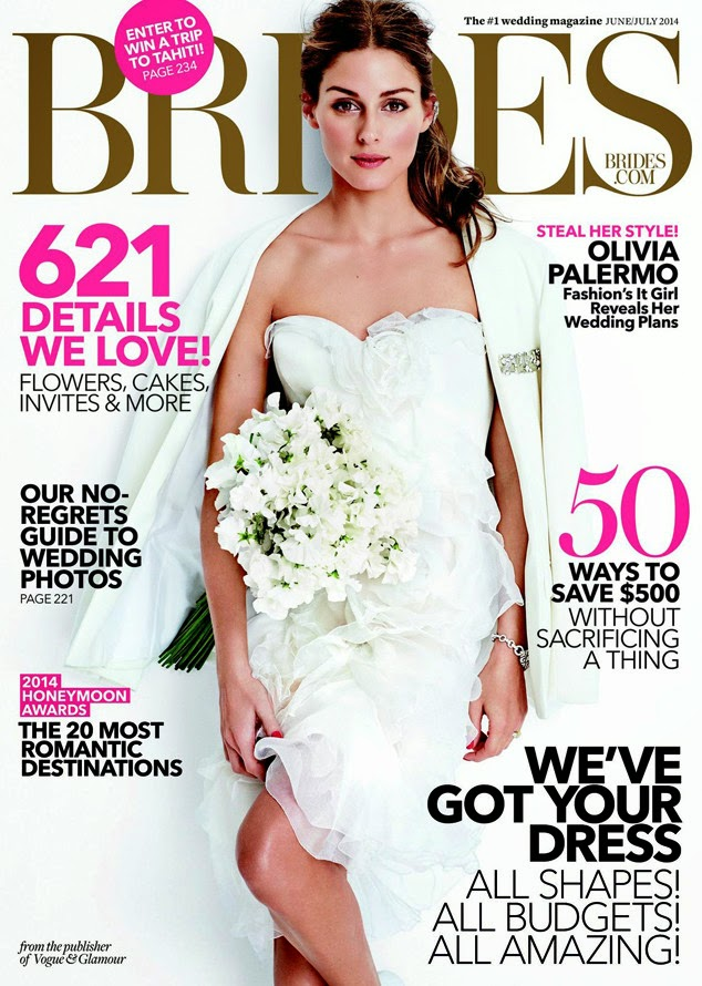 Olivia Palermo for Brides Magazine