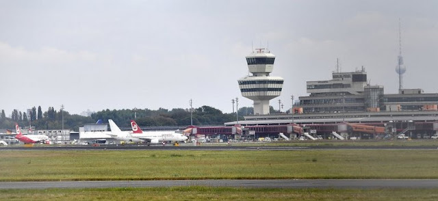 Tegel Airport of berlin