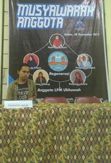 2018, LPM Ukhuwah Miliki Pemimpin Baru