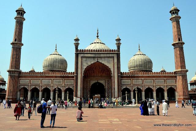 Jama Masjid, Antiga Delhi, Índia
