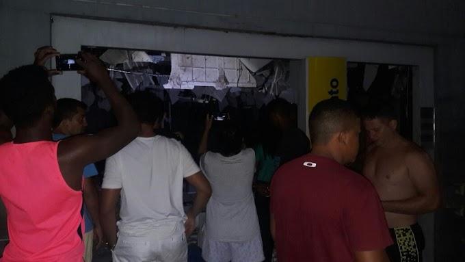 Bandidos explodem agência bancaria de São Luís Gonzaga-MA