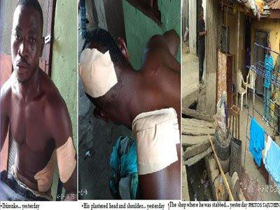 political assassins attack shomolu lagos