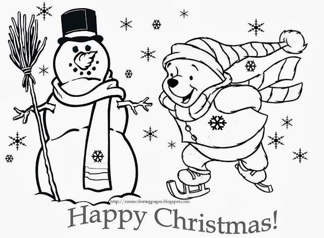 Imagenes De Navidad Para Colorear Grandes