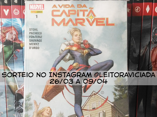 Sorteio: A Vida da Capitã Marvel da Panini Comics