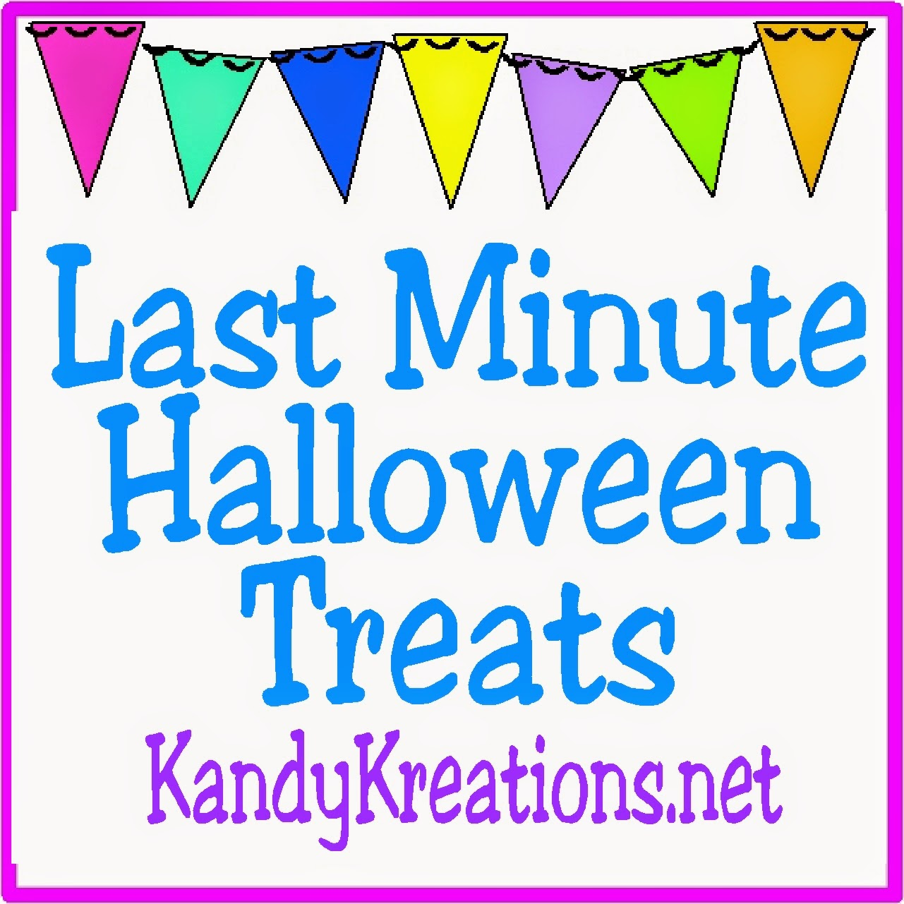 There's not much time left so enjoy these last minute Halloween treats that are perfect for your Halloween party or just for hanging out with your family.  These Halloween treats are sure to win over the ghosts and ghouls in your home today.