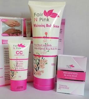 Paket Lengkap Pemutih Kulit Fair N Pink Asli Termurah