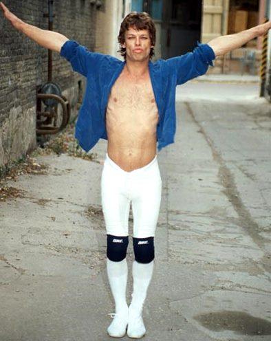 Foto de Mick Jagger fuera de los escenarios