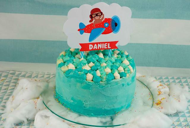 Como montar una tarta de cumpleaños