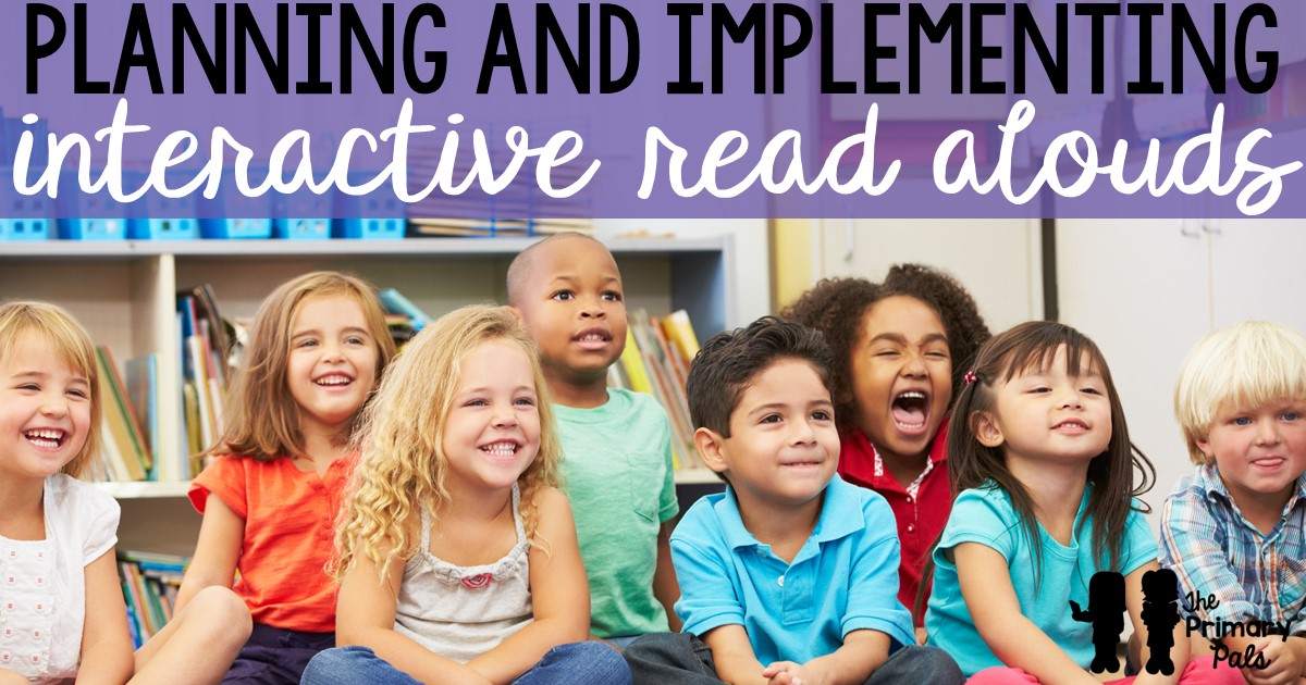 It is important that students of all ages listen to and comprehend texts read aloud. When a text is read aloud to a student, it frees them from the stress of decoding and focusing on expression. Interactive read alouds give teachers a great opportunity to observe student understanding, assess critical thinking skills, and use academic vocabulary.