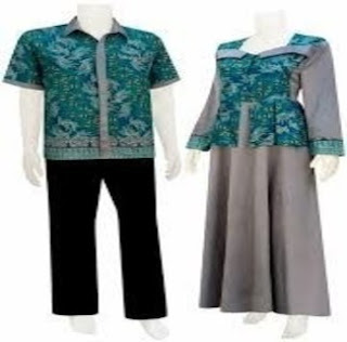 Model Baju Batik Couple Untuk Ke Pesta