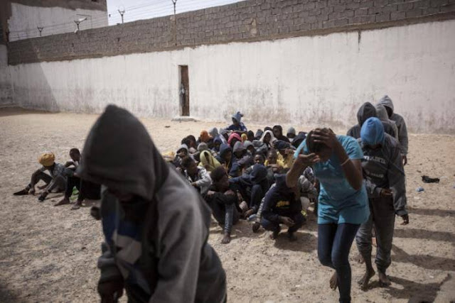 Photographer, Narciso Contreras, captures the hidden-life of Libyan migrants.