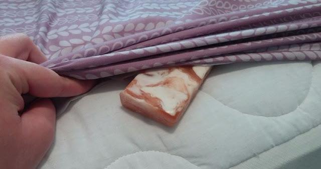 Coloque uma barra de sabão na sua toalha todos os dias e veja os benefícios