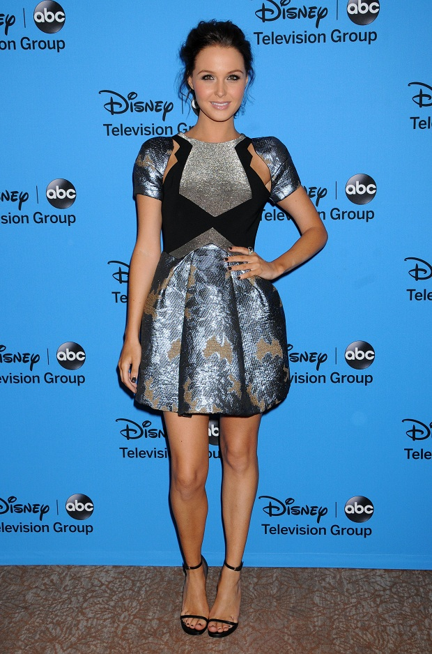 Camilla Luddington at the Disney & ABC's 2013 Summer TCA Party