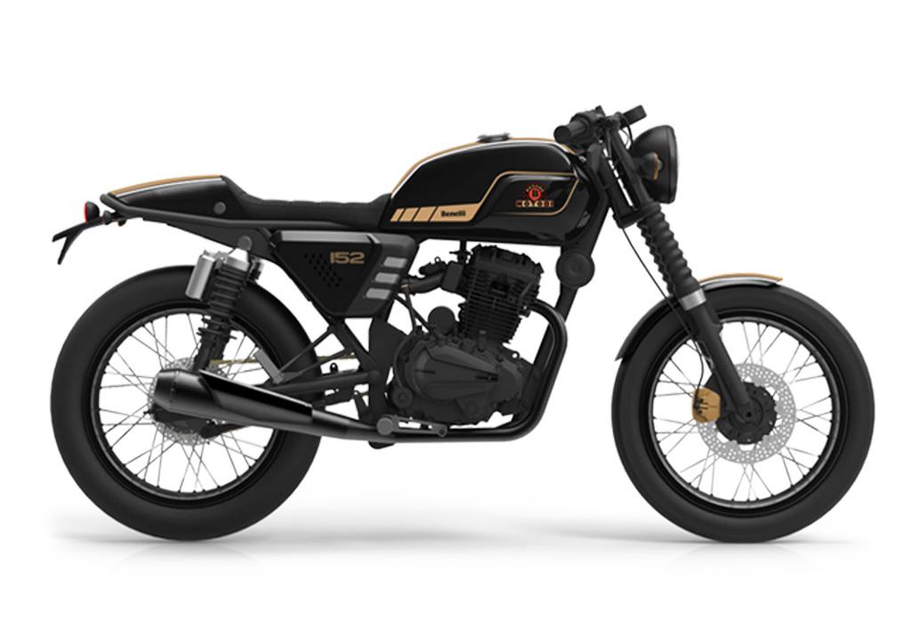 Benelli Motobi 152 Cafe Racer