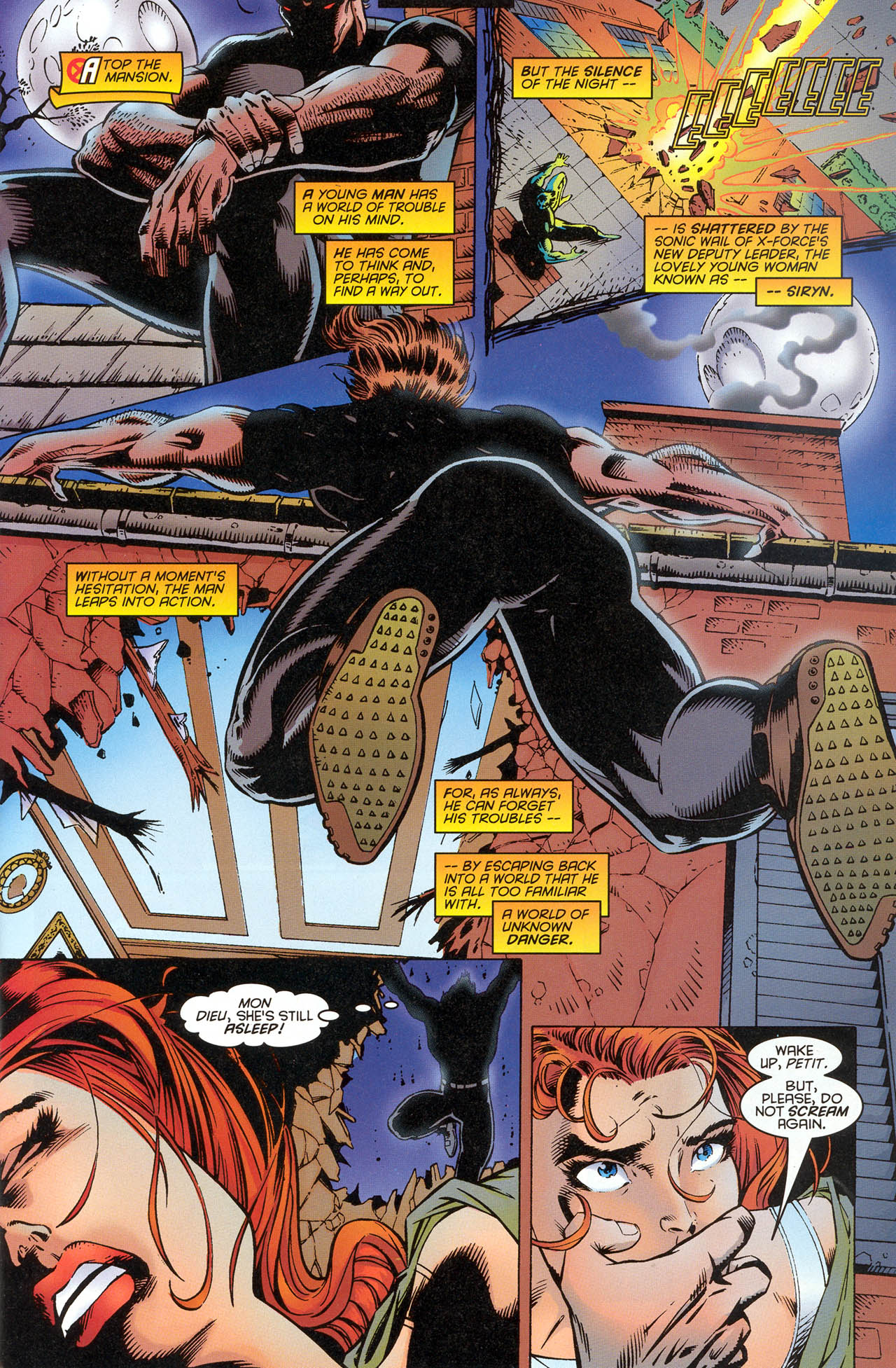 Read online X-Force (1991) comic -  Issue #51 - 11