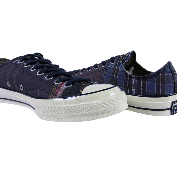 e00021aaf711 Converse First String Chuck Taylor 70 s Ox Boro Print. The 1970s Chuck  Taylor Ox with a nylon upper featuring digital Boro print.