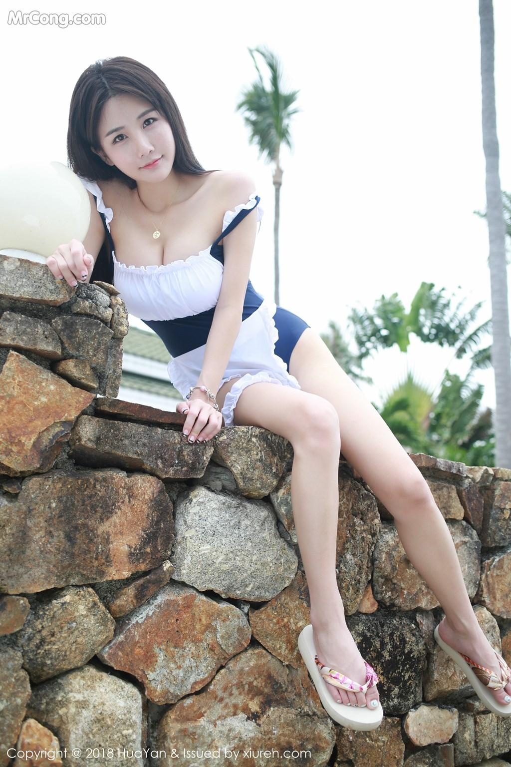 Image HuaYan-Vol.057-Xiao-Mo-Lin-MrCong.com-026 in post HuaYan Vol.057: Người mẫu Xiao Mo Lin (小沫琳) (41 ảnh)